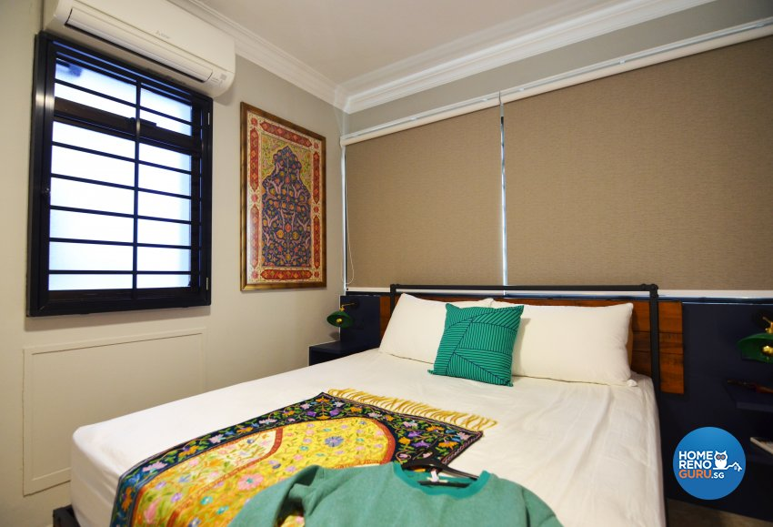 Contemporary Design - Bedroom - HDB 5 Room - Design by Palmwood Pte Ltd