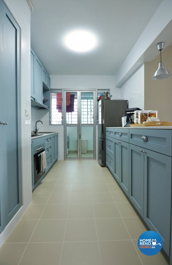 Mediterranean, Others Design - Kitchen - HDB 4 Room - Design by Palmwood Pte Ltd