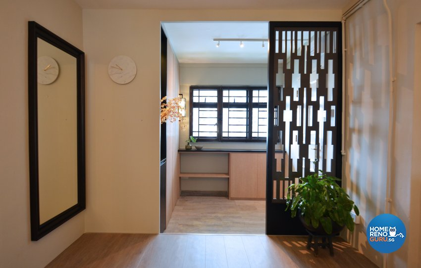 Minimalist Design - Living Room - HDB 3 Room - Design by Palmwood Pte Ltd