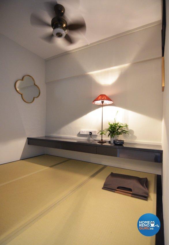 Minimalist Design - Study Room - HDB 3 Room - Design by Palmwood Pte Ltd
