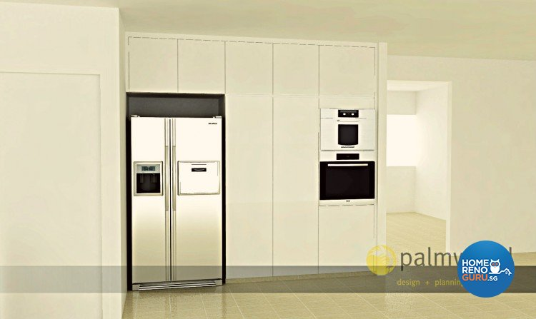 Minimalist, Modern Design - Kitchen - Others - Design by Palmwood Pte Ltd