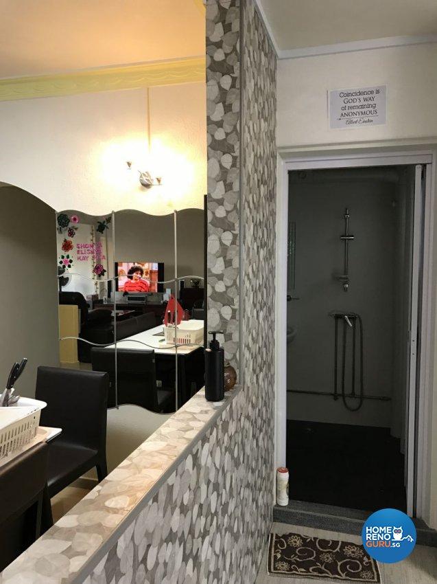Minimalist Design - Kitchen - HDB 5 Room - Design by Palmwood Pte Ltd