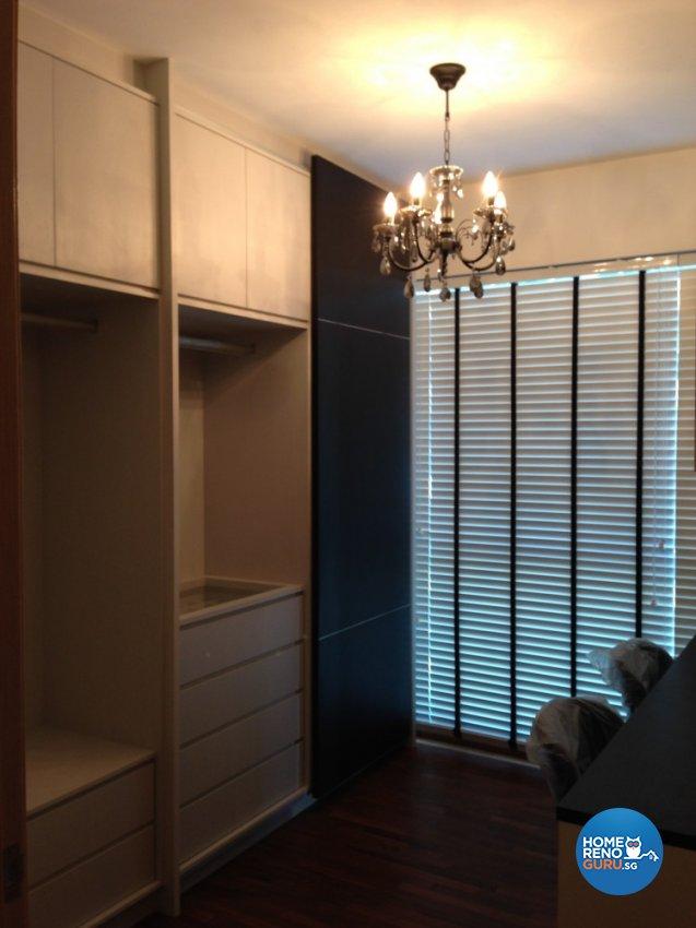 Contemporary, Minimalist Design - Bedroom - Condominium - Design by Palmwood Pte Ltd