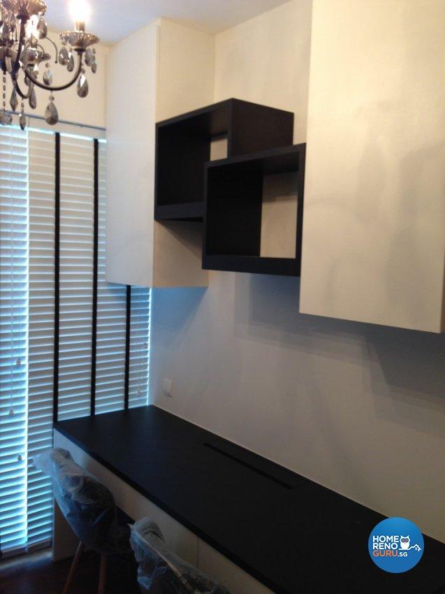 Contemporary, Minimalist Design - Study Room - Condominium - Design by Palmwood Pte Ltd
