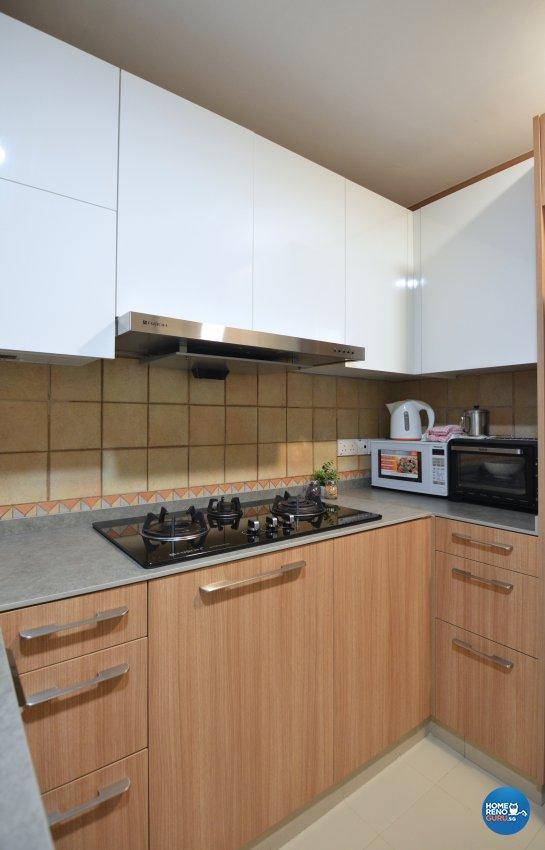 Contemporary Design - Kitchen - Condominium - Design by Palmwood Pte Ltd