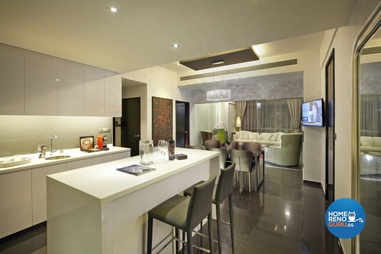 Contemporary, Modern Design - Dining Room - Condominium - Design by Pavillion Creation Pte Ltd