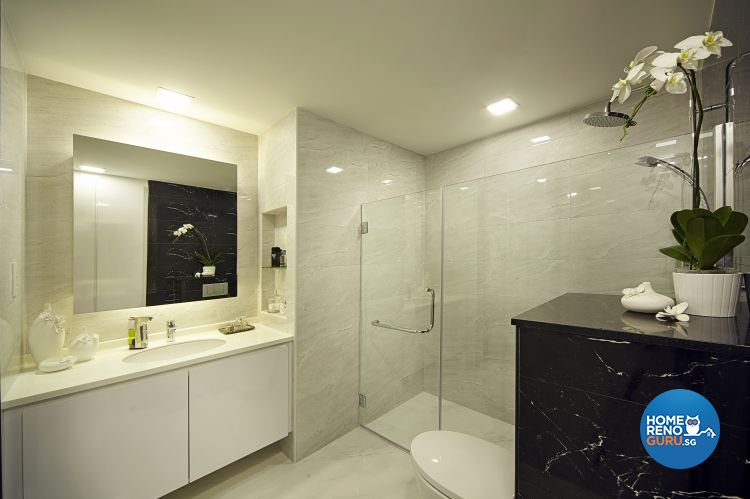 Contemporary, Modern Design - Bathroom - Condominium - Design by Pavillion Creation Pte Ltd