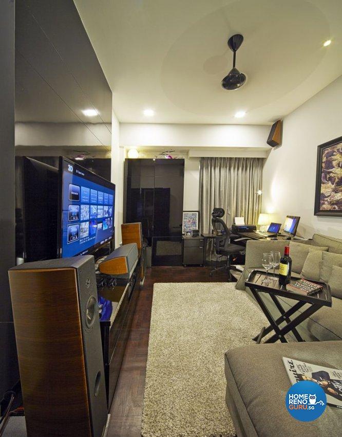 Contemporary, Modern Design - Living Room - Condominium - Design by Pavillion Creation Pte Ltd