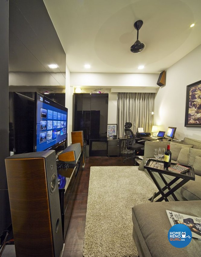 Contemporary, Modern Design - Living Room - Condominium - Design by Pavillion Creation Pte Ltd