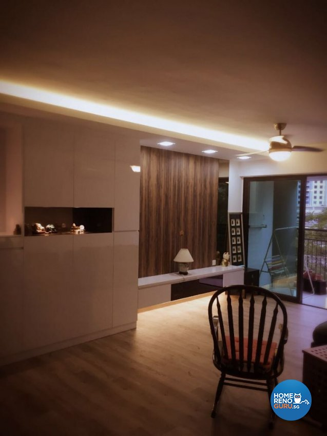 Contemporary, Scandinavian Design - Living Room - HDB 5 Room - Design by Penta Design & Contracts Pte Ltd