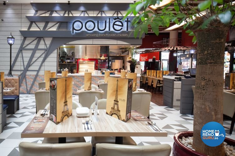 Classical, Modern Design - Dining Room - Retail - Design by Penta Design & Contracts Pte Ltd
