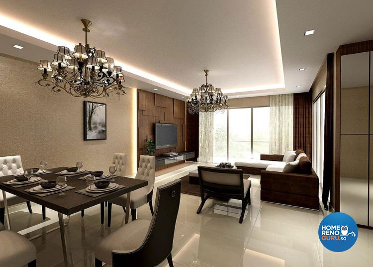 Contemporary, Modern Design - Living Room - HDB 4 Room - Design by Piuttosto Gallery Pte Ltd