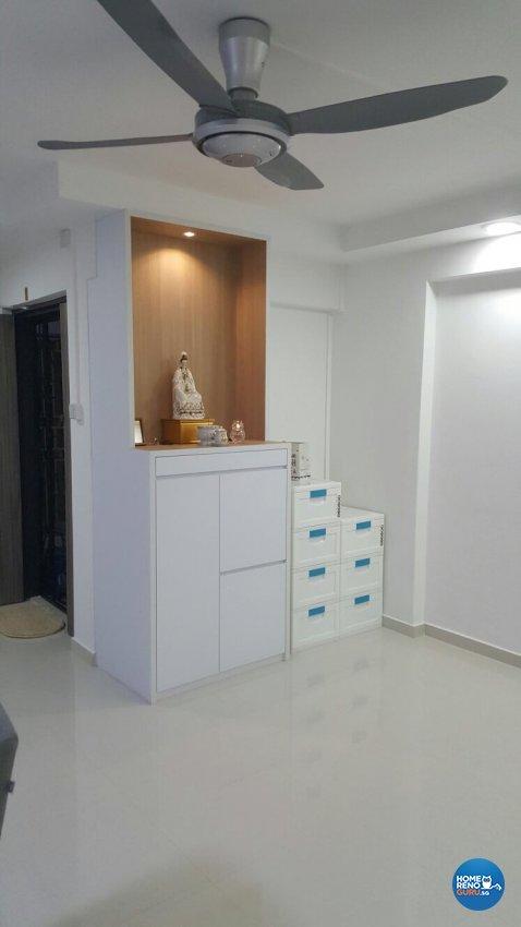 Contemporary, Minimalist, Modern Design - Living Room - HDB 5 Room - Design by PJ DESIGNWORKS PTE LTD
