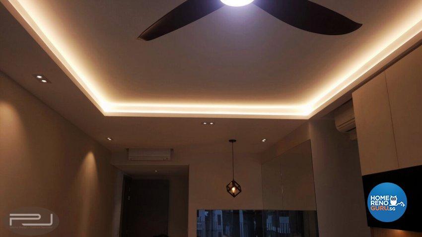 Modern Design - Living Room - Condominium - Design by PJ DESIGNWORKS PTE LTD