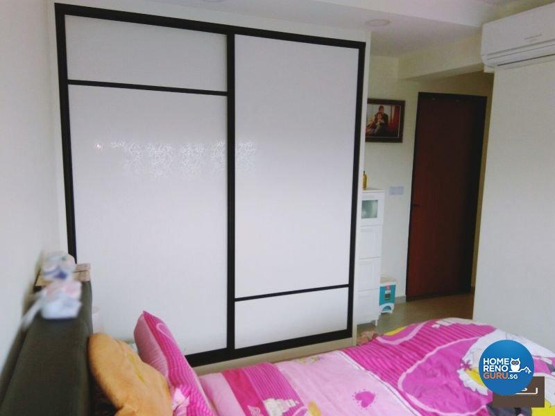 Classical, Contemporary, Industrial Design - Bedroom - HDB 4 Room - Design by PJ DESIGNWORKS PTE LTD