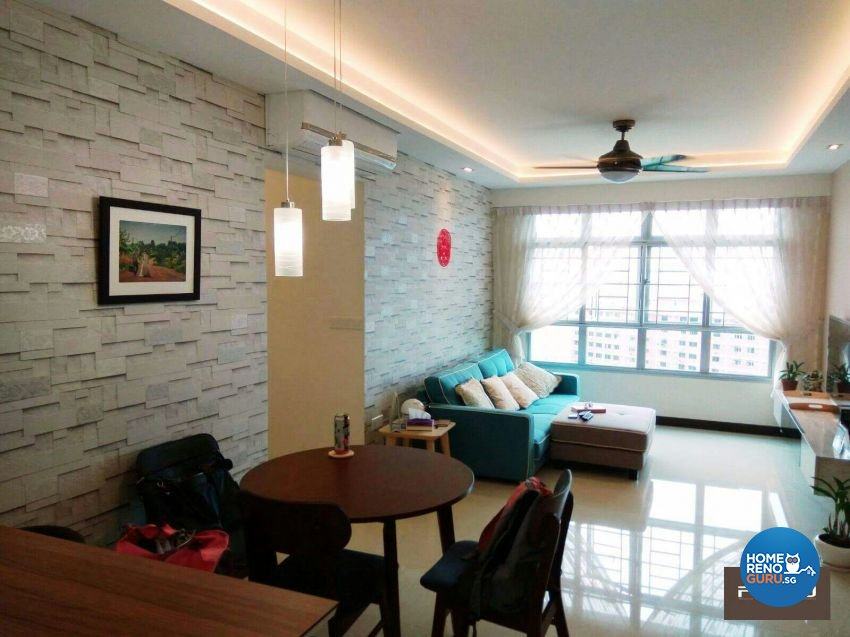 PJ DESIGNWORKS PTE LTD-HDB 4-Room package