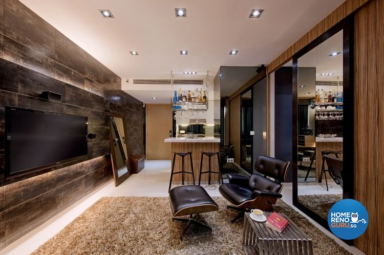 Classical, Rustic Design - Living Room - Condominium - Design by Posh Home Holding Pte Ltd
