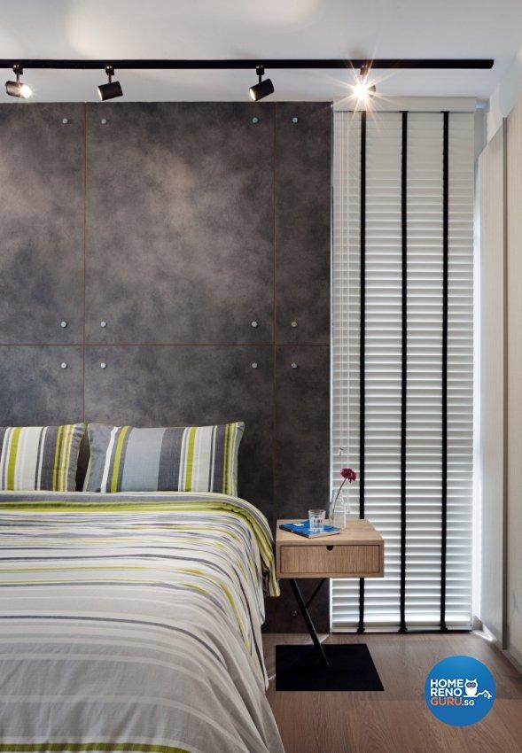 Industrial, Minimalist, Retro Design - Bedroom - Condominium - Design by Posh Home Holding Pte Ltd