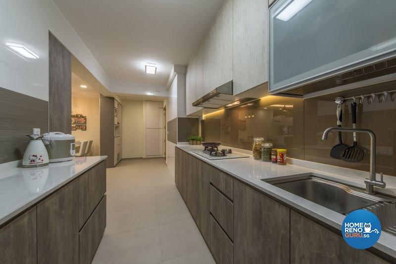Contemporary, Modern, Scandinavian Design - Kitchen - HDB 5 Room - Design by Posh Living Interior Design Pte Ltd
