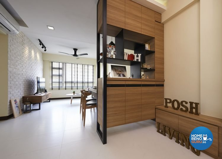 Posh Living Interior Design Pte Ltd-HDB 3-Room package