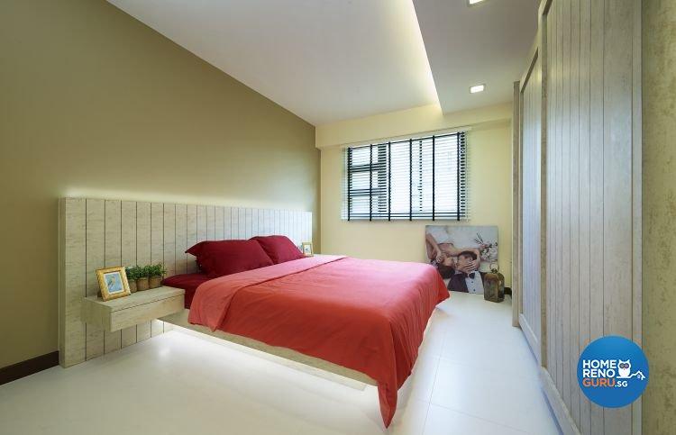 Industrial, Minimalist, Scandinavian Design - Bedroom - HDB 4 Room - Design by Posh Living Interior Design Pte Ltd
