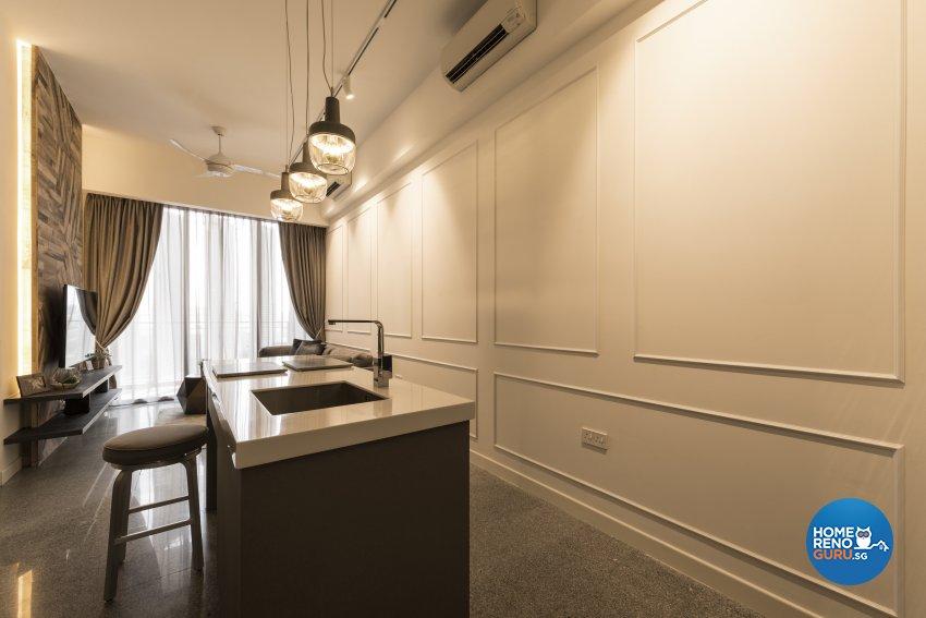 Classical, Modern Design - Dining Room - Condominium - Design by Posh Living Interior Design Pte Ltd