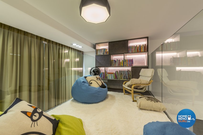 Modern Design - Study Room - Condominium - Design by Posh Living Interior Design Pte Ltd