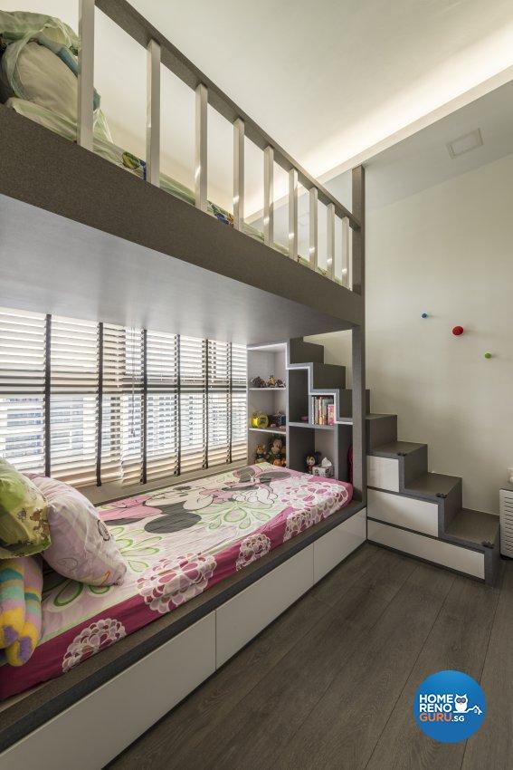 Modern Design - Bedroom - Condominium - Design by Posh Living Interior Design Pte Ltd