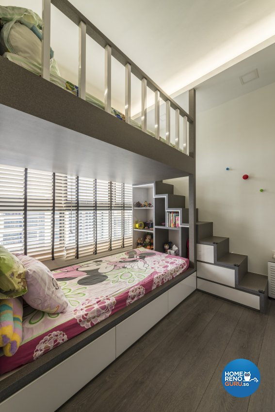 Modern Design - Bedroom - Condominium - Design by Posh Living Interior Design Pte Ltd