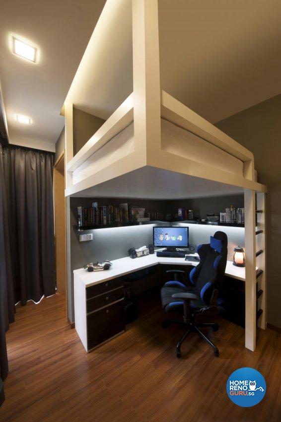 Contemporary, Minimalist, Modern Design - Bedroom - Condominium - Design by Posh Living Interior Design Pte Ltd