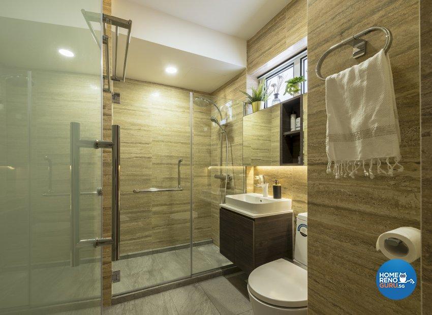 Classical, Contemporary, Modern Design - Bathroom - HDB Executive Apartment - Design by Posh Living Interior Design Pte Ltd