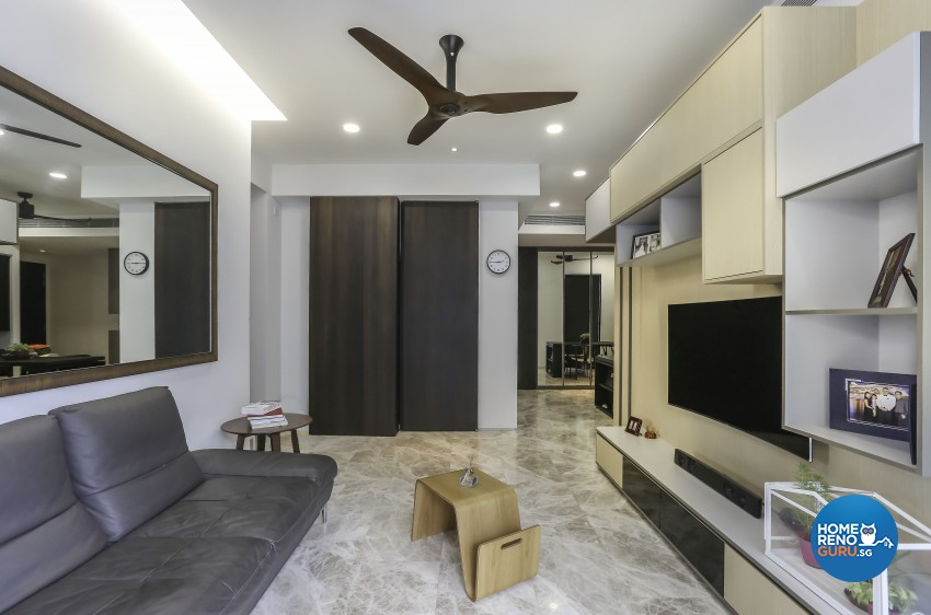 Minimalist, Modern, Scandinavian Design - Living Room - Condominium - Design by Posh Living Interior Design Pte Ltd