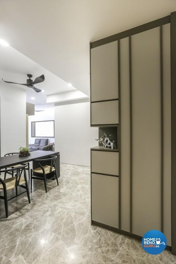 Minimalist, Modern, Scandinavian Design - Dining Room - Condominium - Design by Posh Living Interior Design Pte Ltd
