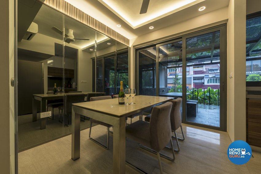 Contemporary, Modern Design - Dining Room - Landed House - Design by Posh Living Interior Design Pte Ltd