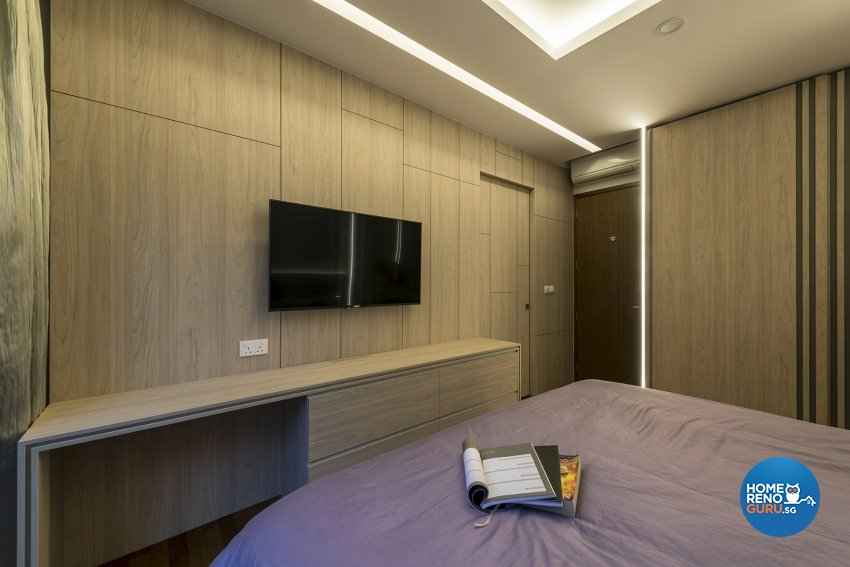 Contemporary, Modern Design - Bedroom - Landed House - Design by Posh Living Interior Design Pte Ltd