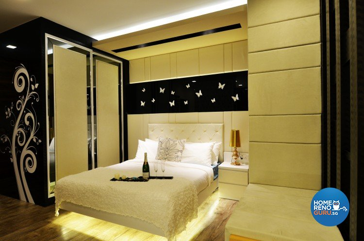 Classical, Eclectic, Modern Design - Bedroom - Others - Design by Posh Living Interior Design Pte Ltd