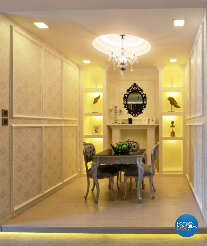 Classical, Eclectic, Modern Design - Dining Room - Others - Design by Posh Living Interior Design Pte Ltd