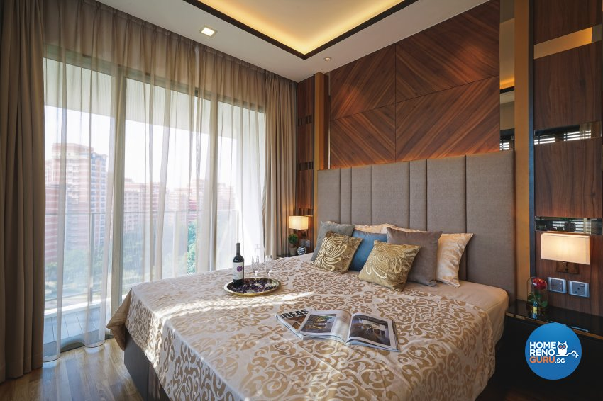 Contemporary, Minimalist, Modern Design - Bedroom - Condominium - Design by Posh Living Interior Design Pte Ltd