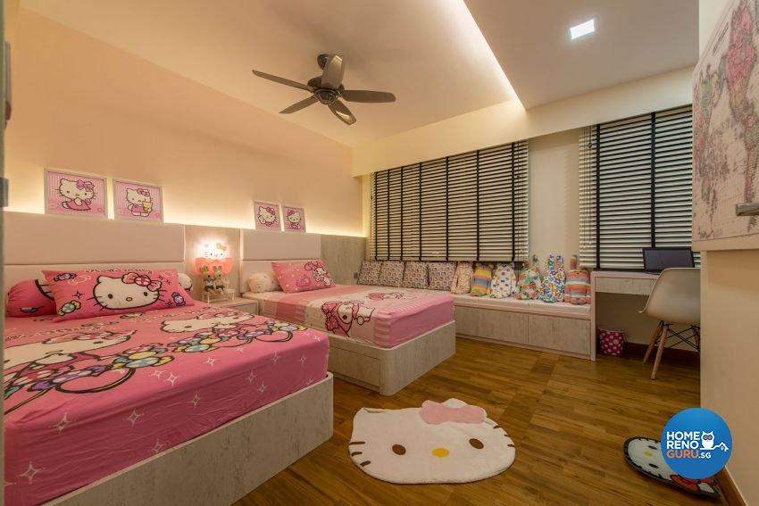 Contemporary, Minimalist, Scandinavian Design - Bedroom - HDB 4 Room - Design by Posh Living Interior Design Pte Ltd