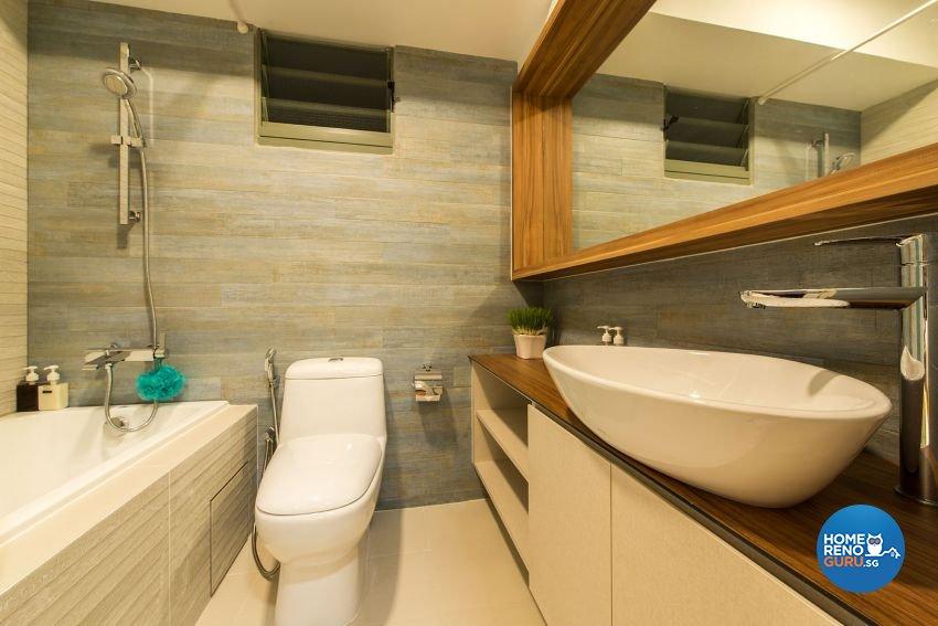 Contemporary, Minimalist, Scandinavian Design - Bathroom - HDB 4 Room - Design by Posh Living Interior Design Pte Ltd