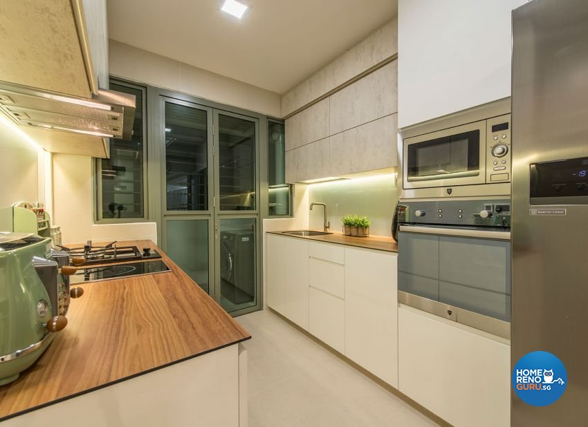 Contemporary, Minimalist, Scandinavian Design - Kitchen - HDB 4 Room - Design by Posh Living Interior Design Pte Ltd