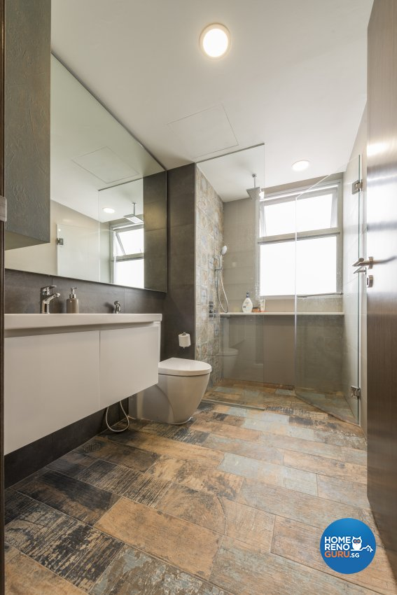 Industrial, Minimalist, Modern Design - Bathroom - Condominium - Design by Posh Living Interior Design Pte Ltd