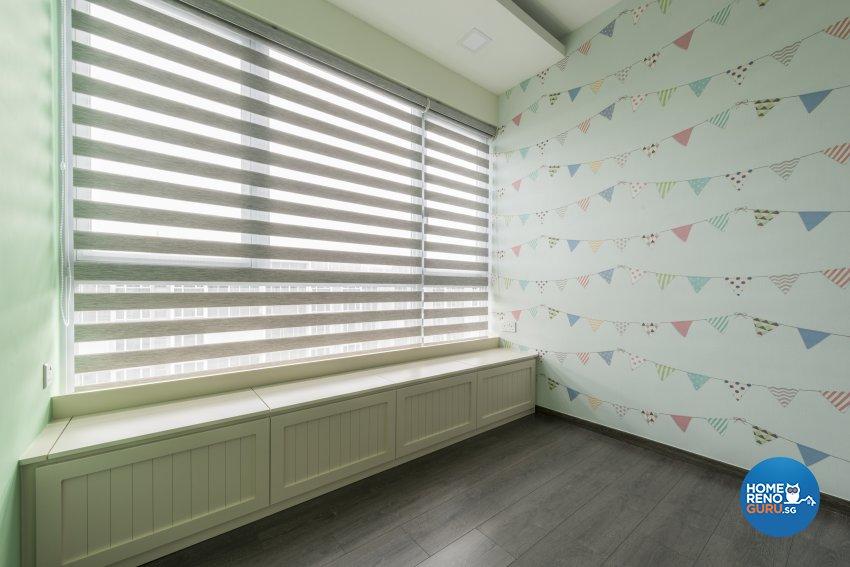 Industrial, Minimalist, Modern Design - Bedroom - Condominium - Design by Posh Living Interior Design Pte Ltd