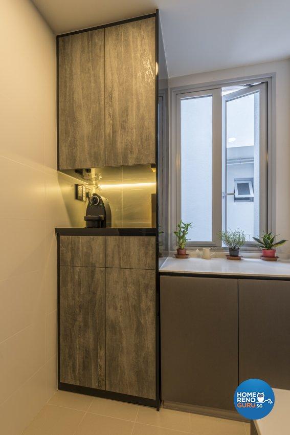 Industrial, Minimalist, Modern Design - Living Room - Condominium - Design by Posh Living Interior Design Pte Ltd