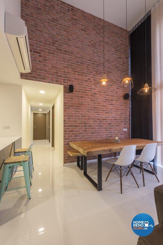 Industrial, Minimalist, Modern Design - Dining Room - Condominium - Design by Posh Living Interior Design Pte Ltd