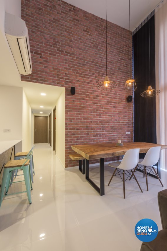 Industrial, Minimalist, Modern Design - Dining Room - Condominium - Design by Posh Living Interior Design Pte Ltd
