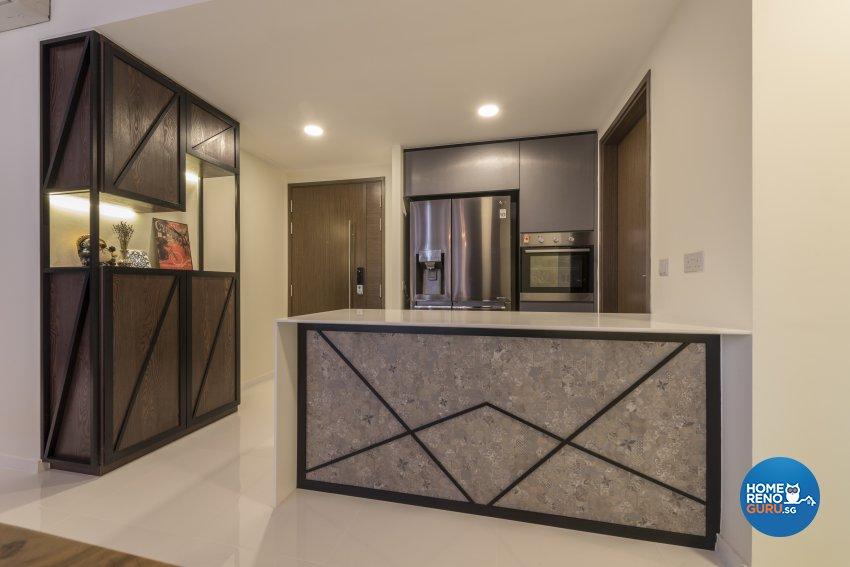 Industrial, Minimalist, Modern Design - Kitchen - Condominium - Design by Posh Living Interior Design Pte Ltd