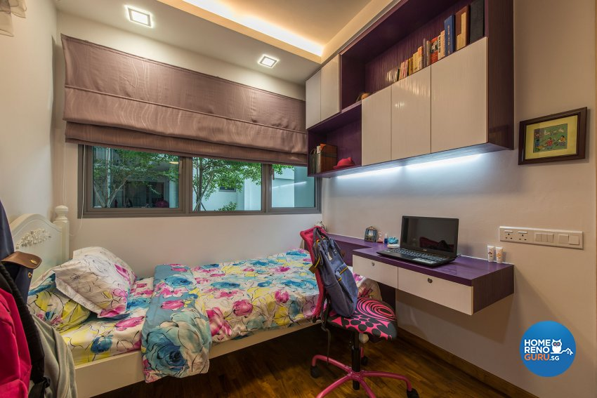 Contemporary, Modern, Resort Design - Bedroom - Condominium - Design by Posh Living Interior Design Pte Ltd