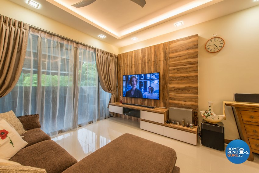 Contemporary, Modern, Resort Design - Living Room - Condominium - Design by Posh Living Interior Design Pte Ltd