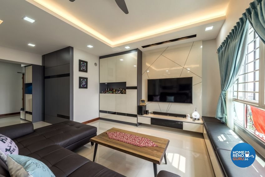 excellent living room ceiling design. Minimalist  Modern Design Living Room HDB 5 by Posh Singapore Interior Gallery Details HomeRenoGuru